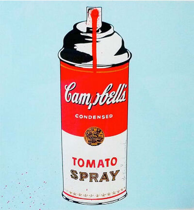 Mr. Brainwash, 'Tomato Spray', 2010