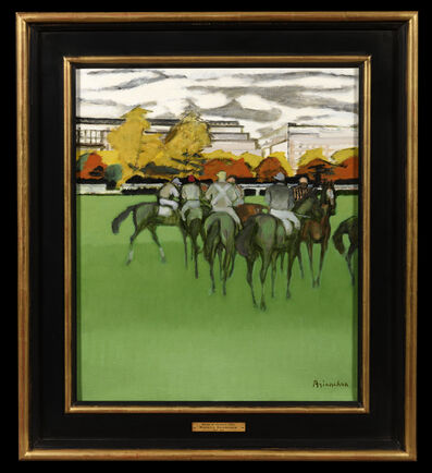 Maurice Brianchon, 'Races at Auteuil', 1951