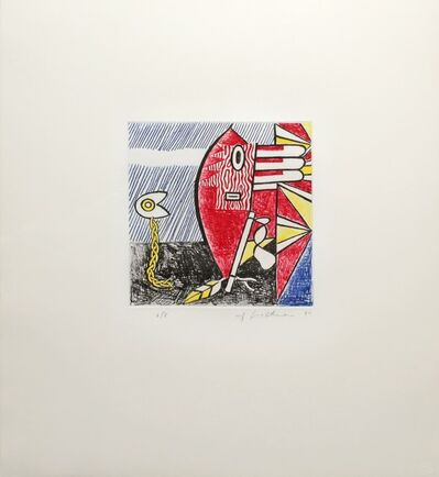 Roy Lichtenstein, 'Untitled II (Cortlett 179)', 1980
