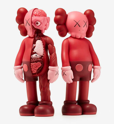 KAWS, 'KAWS Companion Blush and Companion Blush Flayed (set of 2)', 2016