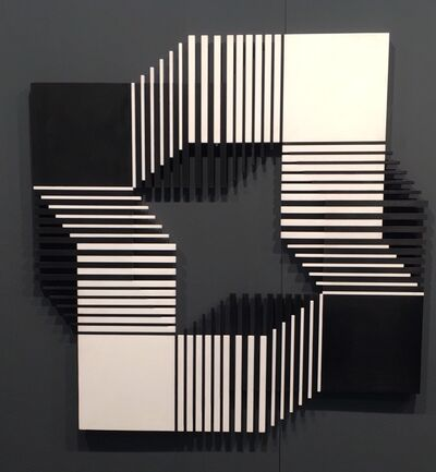 Francisco Sobrino, 'Relacion NB 4', 1975