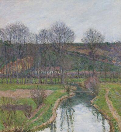 Blanche Hoschedé-Monet, 'La Risle à Beaumont-le-Roger, à l'automne', 1912