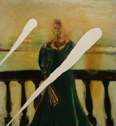 Julian Schnabel, 'Portrait of Ines Tolonia', 1997
