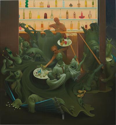 Inka Essenhigh, 'Spring Bar Scene', 2007-2008