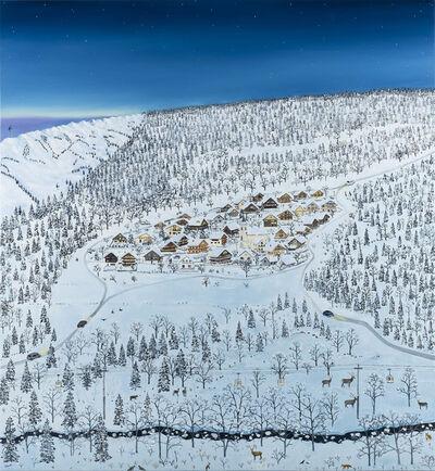 Emma Haworth, 'Mountain Village Nighttime ', 2019
