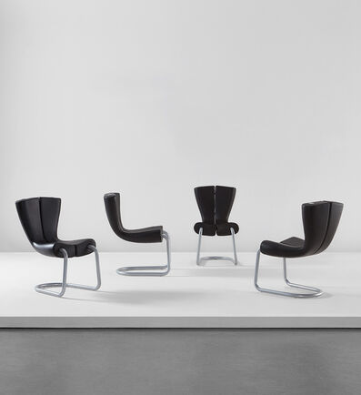 "Marc Newson, 'Set of four ""Komed"" chairs', 1996"