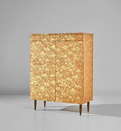 Piero Fornasetti, 'Rare 'Piccolo Coromandel' cabinet'