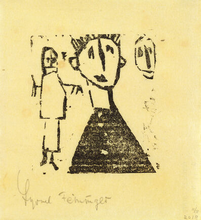 Lyonel Feininger, '(Stehkragen) (Standup Collars)', 1920