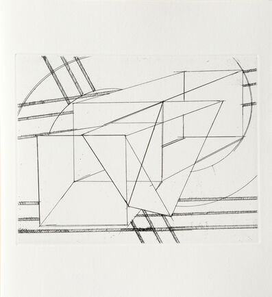 Al Held, 'III from Der Philosoph Portfolio', 1983