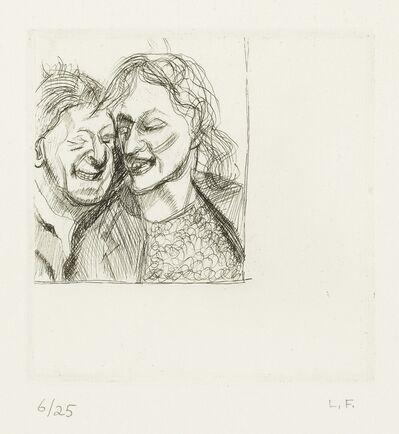 Lucian Freud, 'A Couple (Hartley 7)', 1982