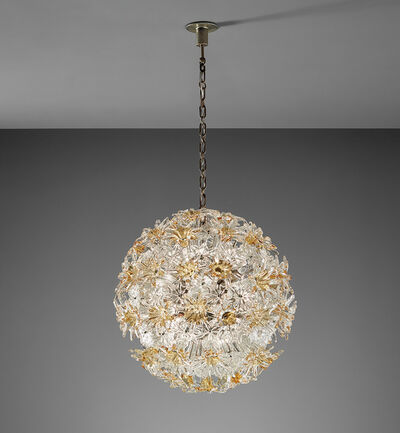 "Venini, 'Ceiling light, from the ""Esprit"" series', circa 1966"