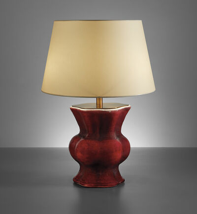"Georges Jouve, '""Chinois"" table lamp', circa 1943"
