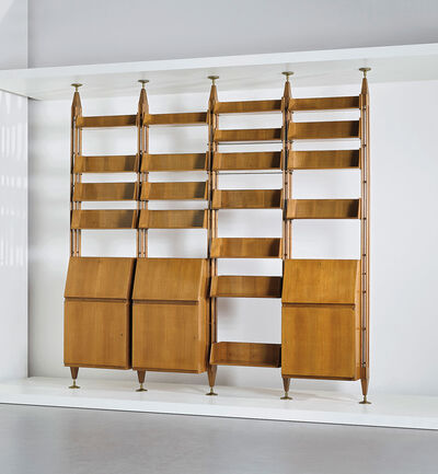 Franco Albini, 'Unique bookcase, designed for the study of Casa F., Milan', circa 1956