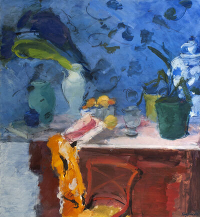 Henry Finkelstein, 'Blue Still Life', 2018