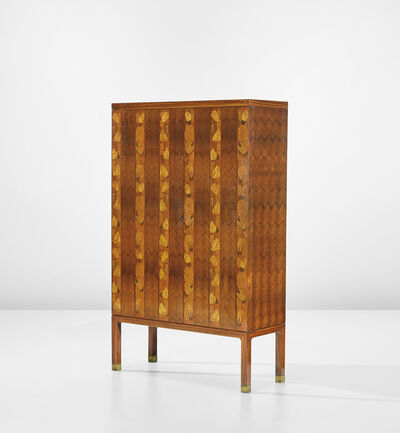 Paolo Buffa, 'Rare illuminated drinks cabinet', circa 1946