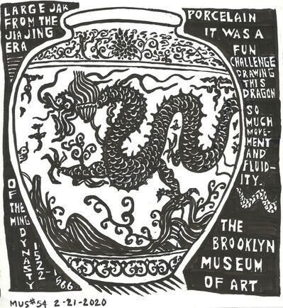Susan Greenstein, 'Ming Dynasty Jar with Dragon', 2019