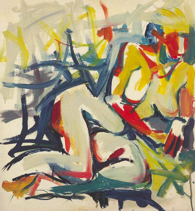 Jack Tworkov, 'Untitled (Woman)', ca. 1955