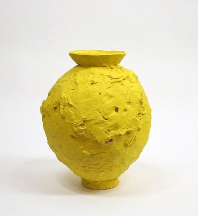 Trevor King, 'Yellow Moon Jar', 2018