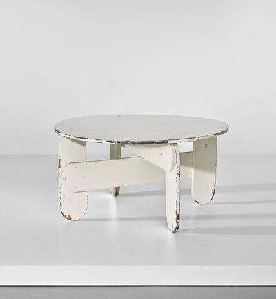 Gerrit Thomas Rietveld, 'Unique low table', circa 1940