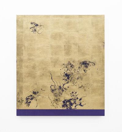 Pierre Vermeulen, 'Hair orchid sweat print, violet scape', 2018