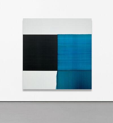 Callum Innes, 'Exposed Painting Blue Lake', 2012