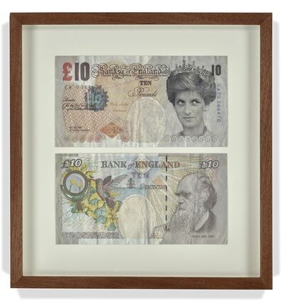 Banksy, 'Di-faced bank note', 2004