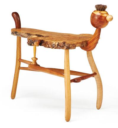 "Tommy Simpson, 'Dog side table, ""Good Boy,"" New Preston, CT', 2011"