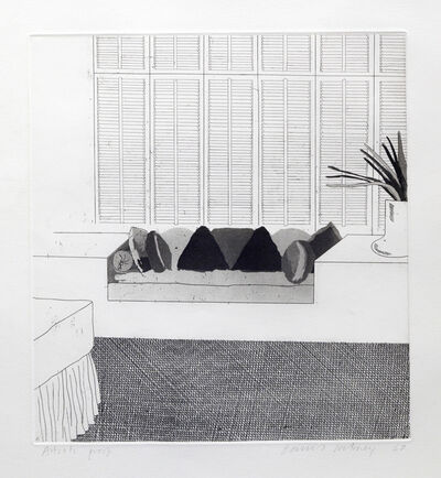 David Hockney, 'Cushions', 1968