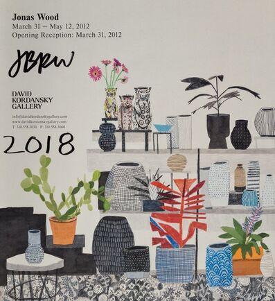After Jonas Wood, 'Jonas Wood 2012, exhibition poster', 2012