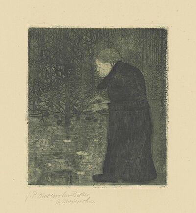 Paula Modersohn-Becker, 'Blinde Frau im Walde', circa 1900