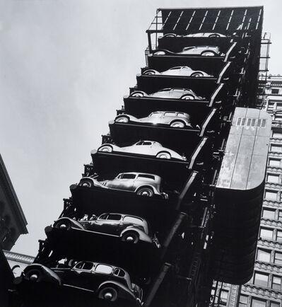 John Gutmann, 'Elevator Garage, Chicago', 1936
