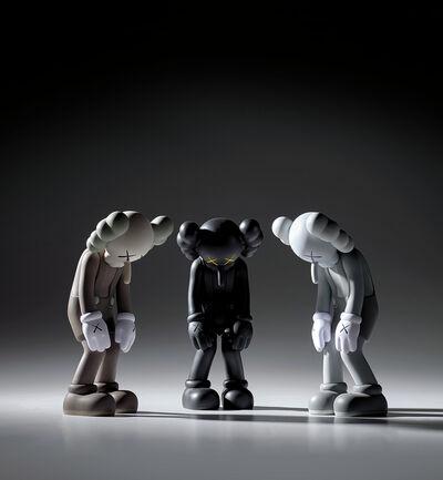 KAWS, 'Three works: (i) SMALL LIE (Brown); (ii) SMALL LIE (Black); (iii) SMALL LIE (Grey)'
