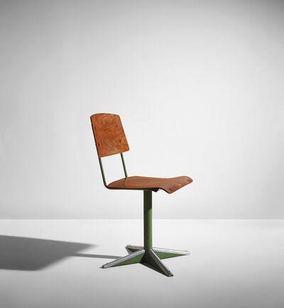 Jean Prouvé, 'Dactylo pivoting chair, model no. CD 11', circa 1944