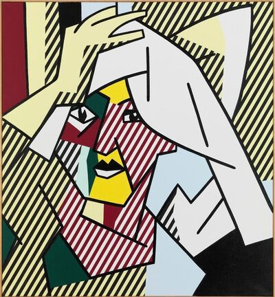 Roy Lichtenstein, 'Woman Drying Her Hair', 1980