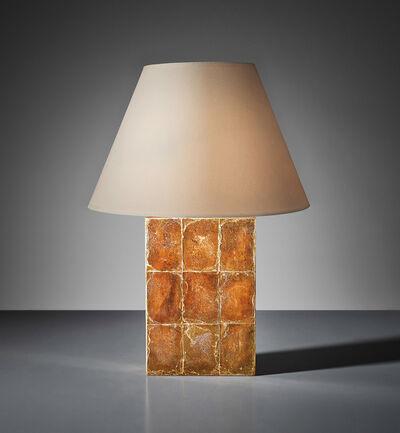 "Jean-Michel Frank, 'Large ""Block"" table lamp', circa 1928"