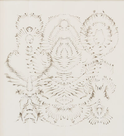 Bruce Conner, 'INKBLOT DRAWING OCTOBER 24, 2000', 2000