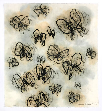 Louisa Chase, 'Untitled (Butterflies)', 2000