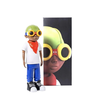 Hebru Brantley, 'Flyboy White Tee Figure', 2016