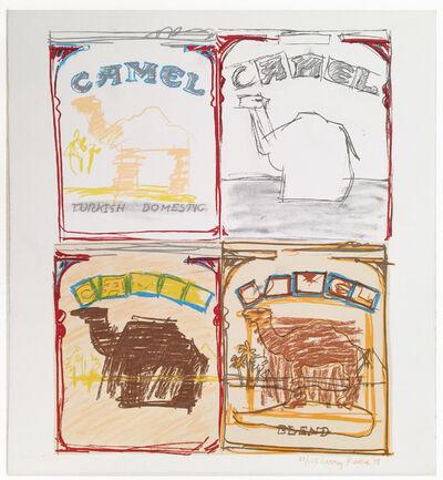 Larry Rivers, 'Camel Quartet', 1978