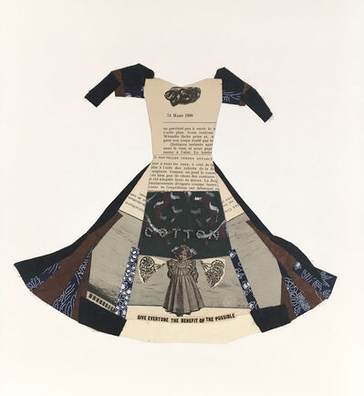 JoAnne McFarland, 'Sins of Our Founding Fathers Dress', 2020