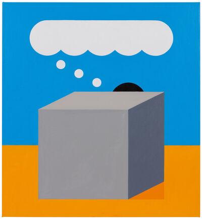 Leonhard Hurzlmeier, 'Hidden Thinker', 2018