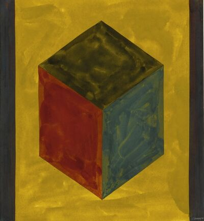 Sol LeWitt, 'Form Derived from a Cube', 1991