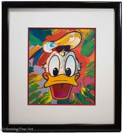 Peter Max, 'Walt Disney Donald Duck', 1994