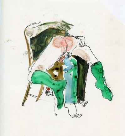 Jimmy Wright, 'Green Socks', 2018