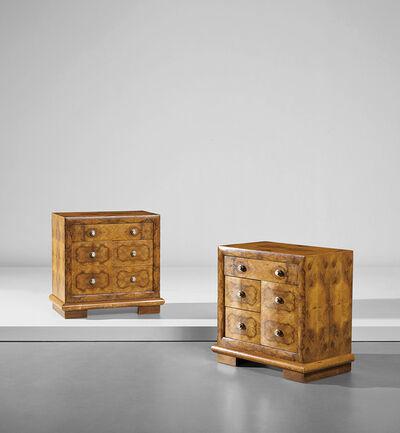 Osvaldo Borsani, 'Pair of bedside tables', 1930s