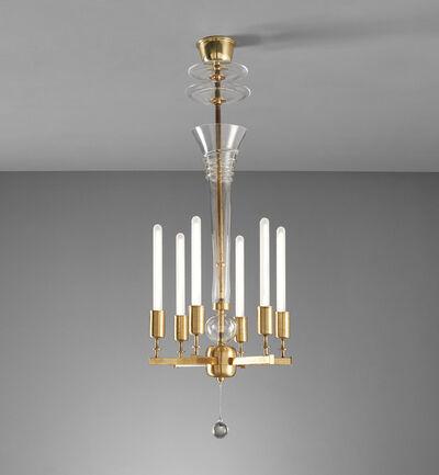 Paavo Tynell, 'Rare ceiling light', 1930s