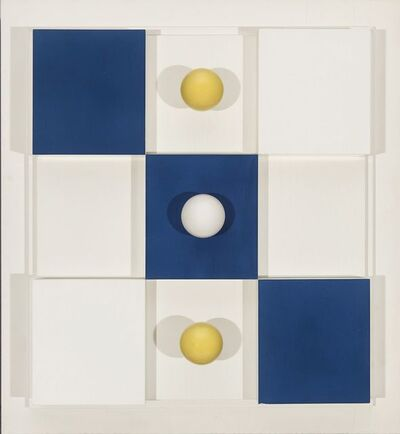 Charles Biederman, 'Structural Relief, New York #5, March 1938', 1938