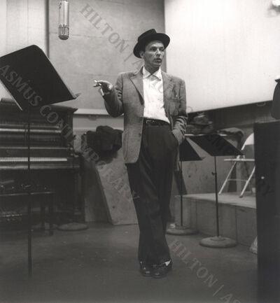 Ken Veeder, 'Frank Sinatra - Cutting the rug...', 1955