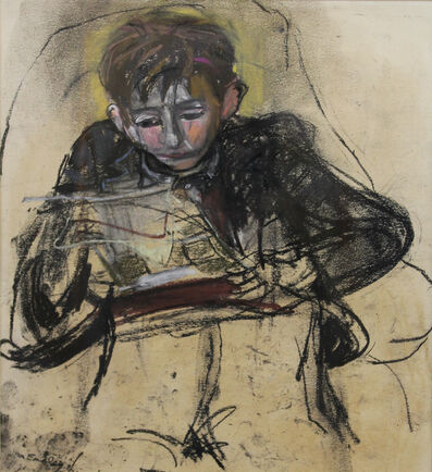 Joan Eardley, 'Boy Reading', 1929