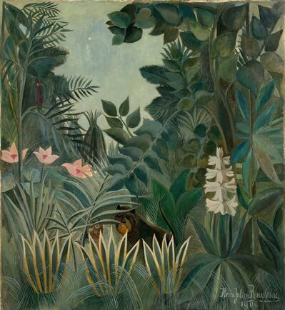 Henri Rousseau, 'The Equatorial Jungle', 1909